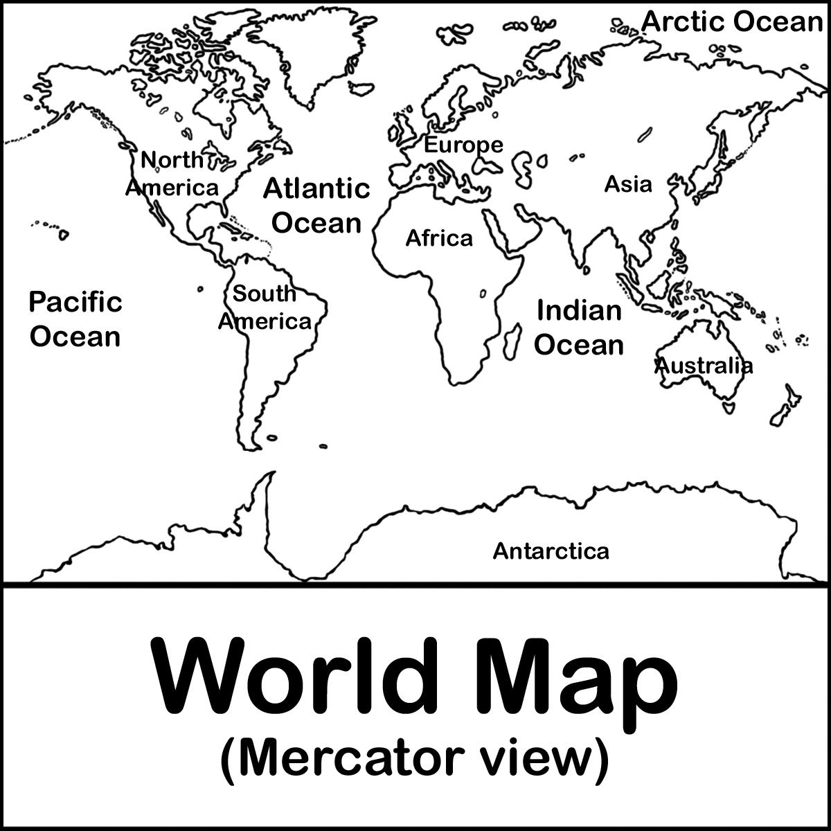Coloring pictures continents - Maps Free Coloring And Coloring