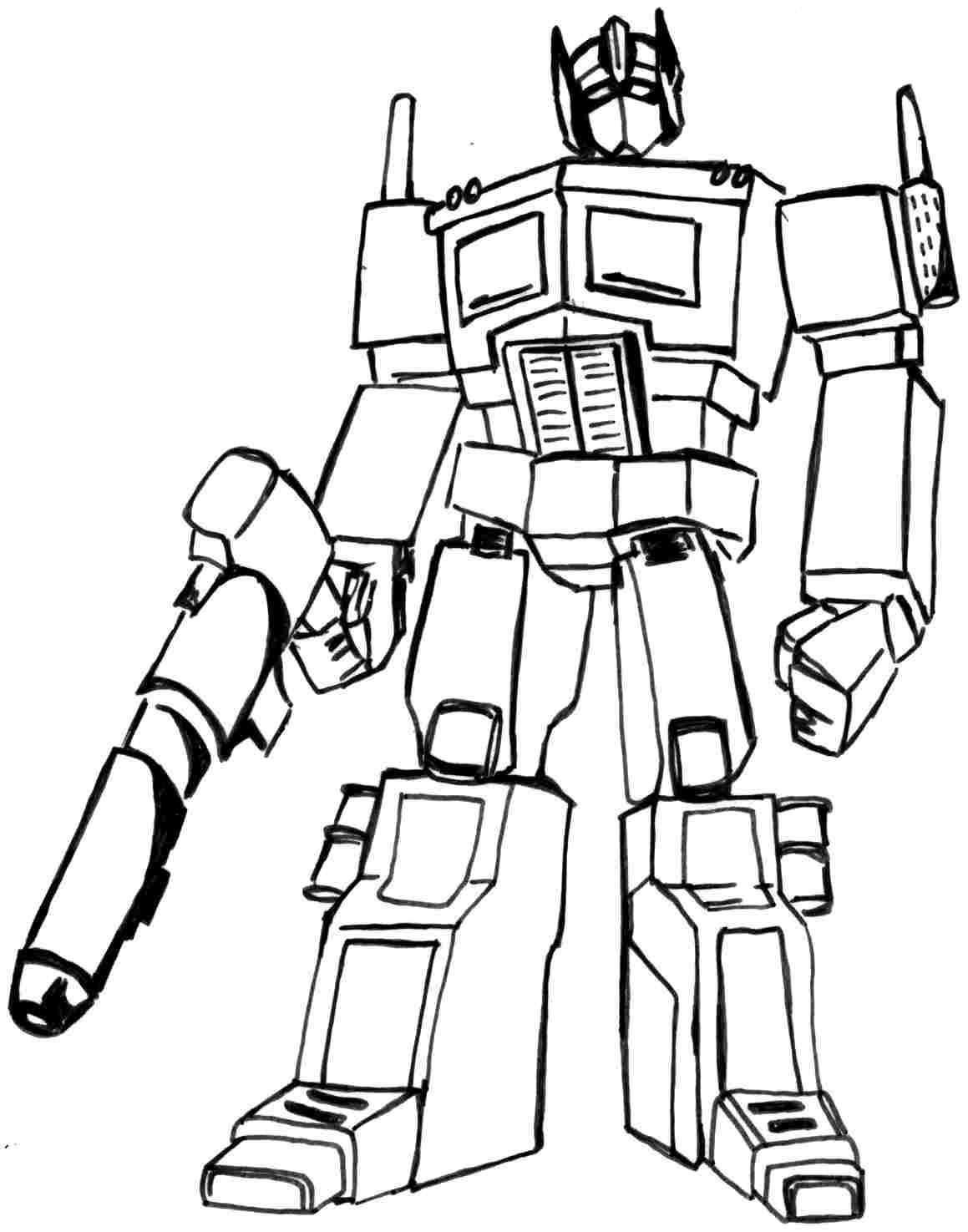 transformers free coloring pages clampdown - photo#17