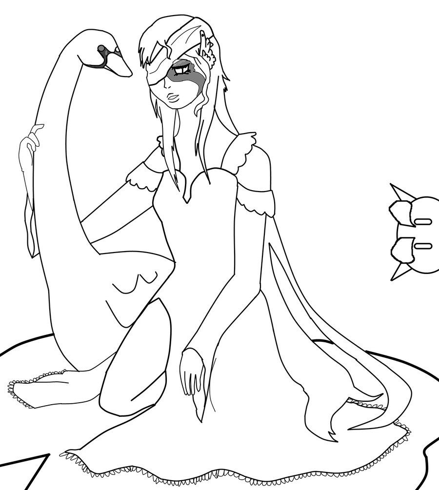 Swan princess coloring pages free - Swan Princess Coloring Pages Related Keywords Suggestions Swan