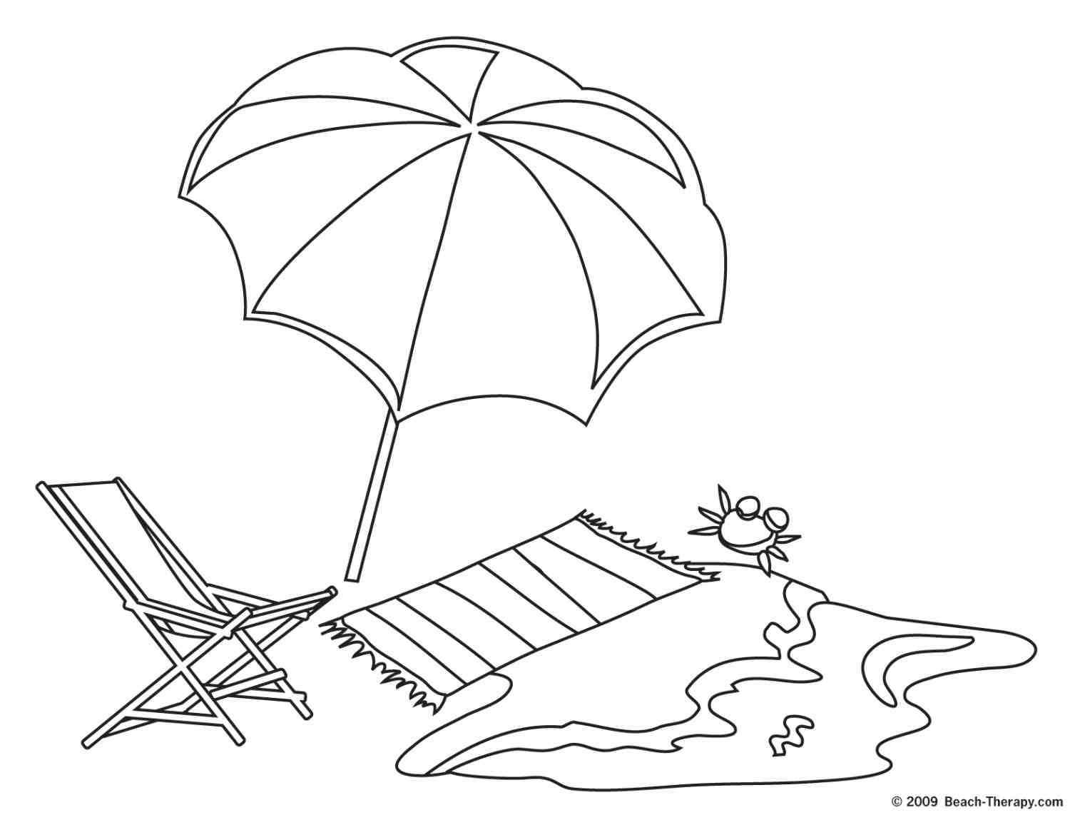 Mexico Beach Coloring Page Coloring Home