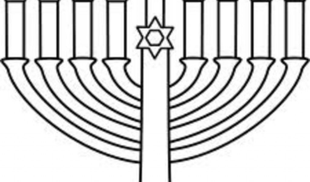 mini coloring pages of hanukkah - photo#25
