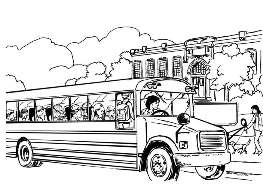 Download Free Magic School Bus Coloring Pages To Download And ...