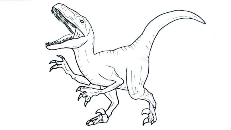 Jurassic World Coloring Pages Coloring Home