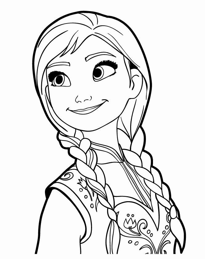 29 Best Frozen Coloring Pages for Kids - Updated 2018 | Libri da ... | 838x666