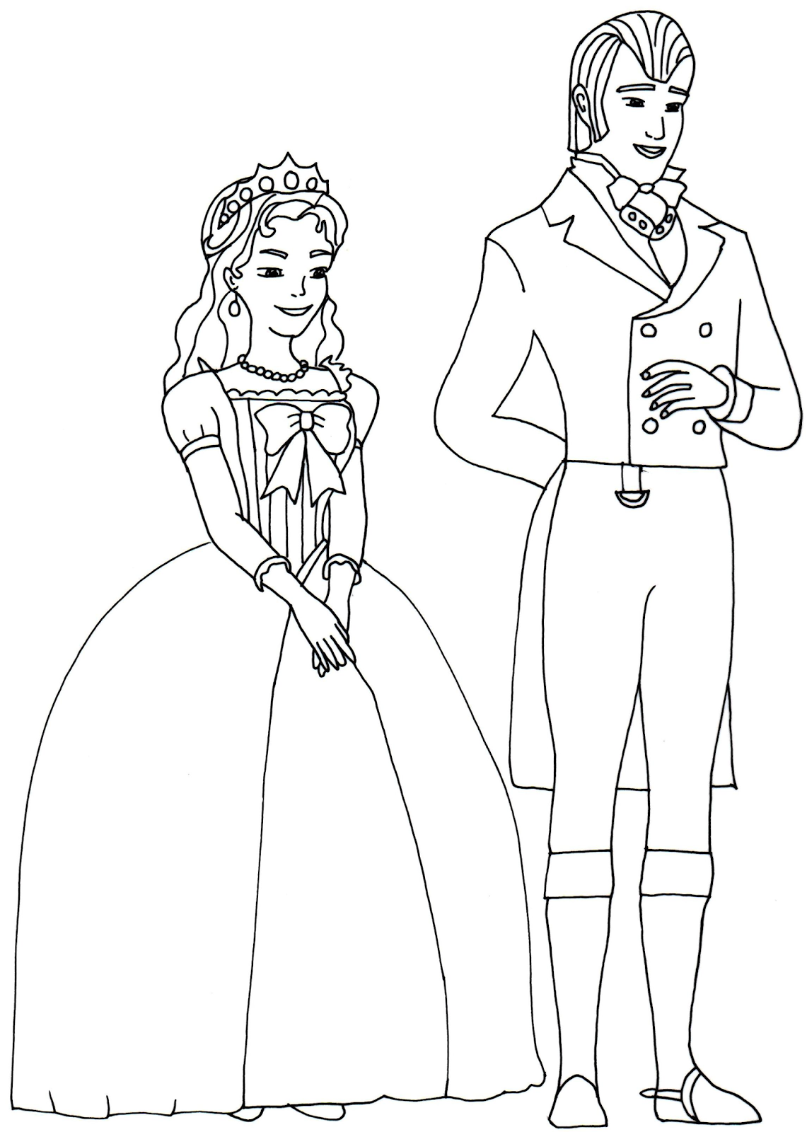 Coloring pages queen elizabeth - British Kings And Princes Colouring Pages Queen Elizabeth Ii