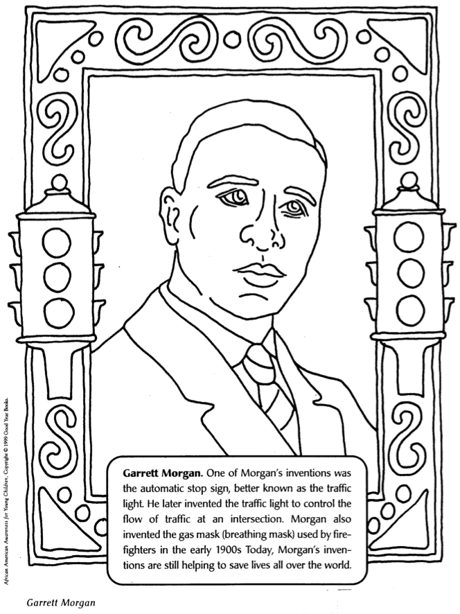 black history month coloring pages printables. black history ...