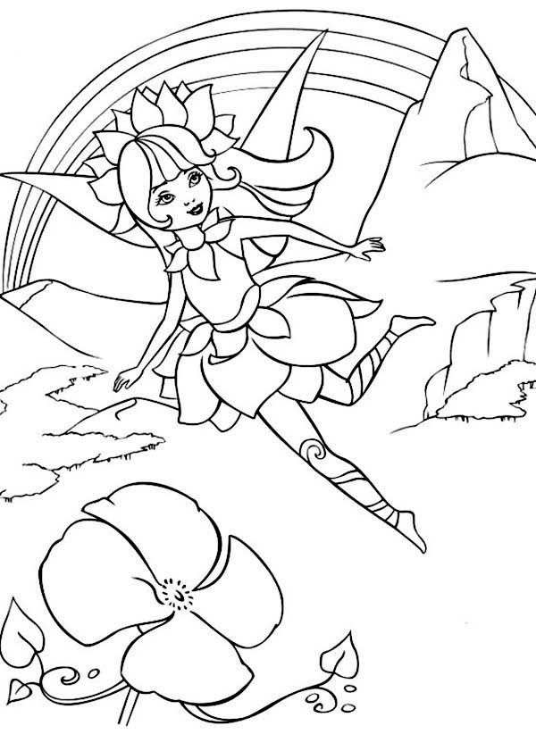 fairytopia coloring pages - photo#32