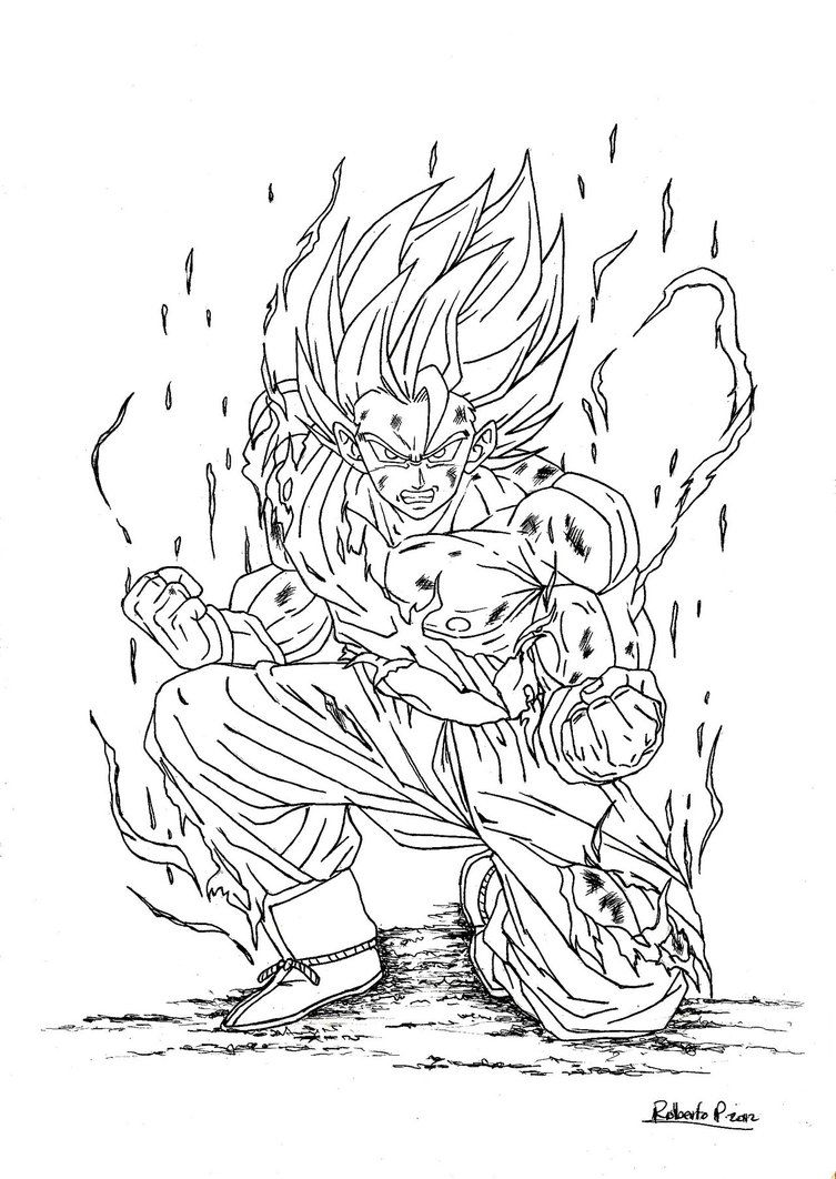 dragon ball z coloring pages dragon ball z coloring pages goku