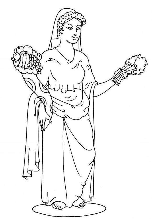 Greek gods and goddesses coloring pages free coloring home for Coloring pages of greek gods