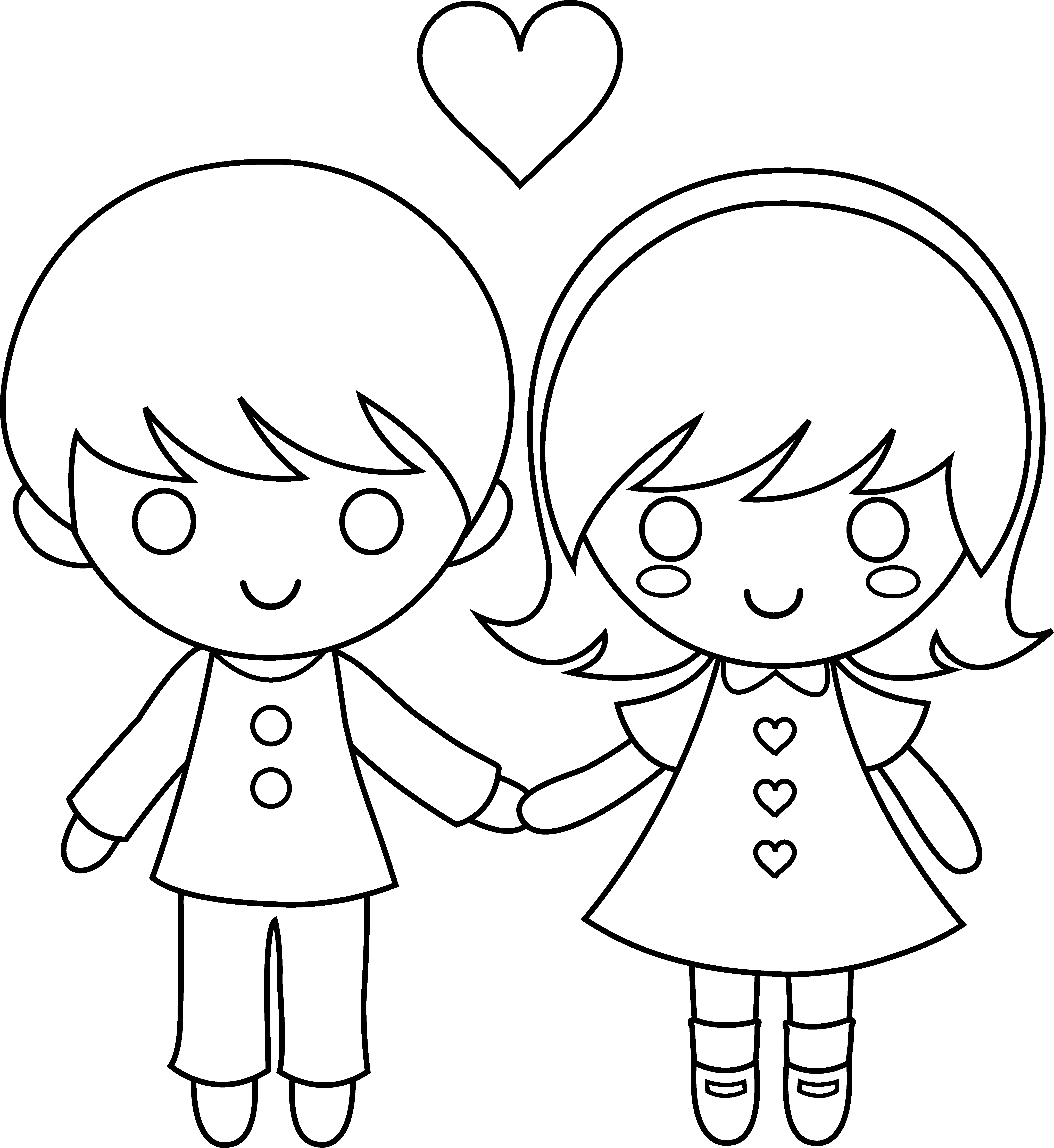 cute little girl coloring pages - photo#7
