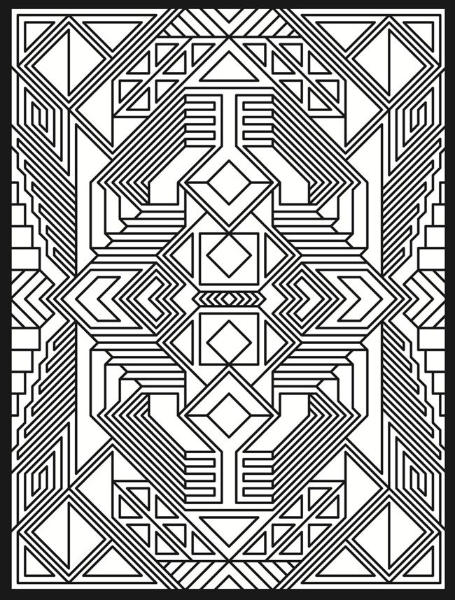 50 trippy coloring pages - Trippy Coloring Books