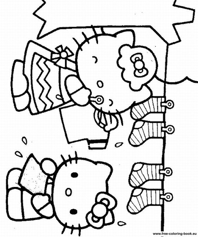 i love you hello kitty coloring pages - photo #43