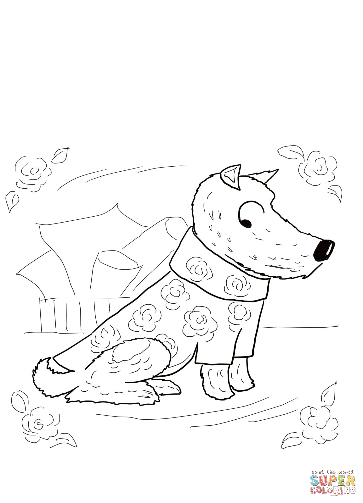 dirty coloring pages - photo#9