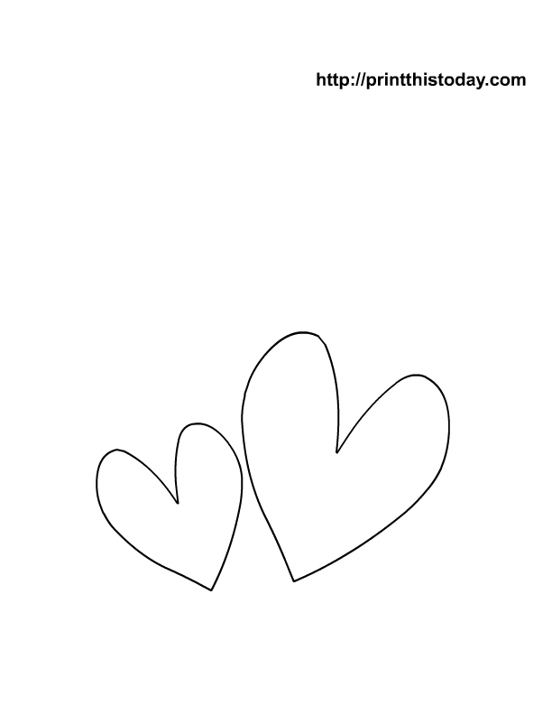 Heart coloring Pages | Print This Today