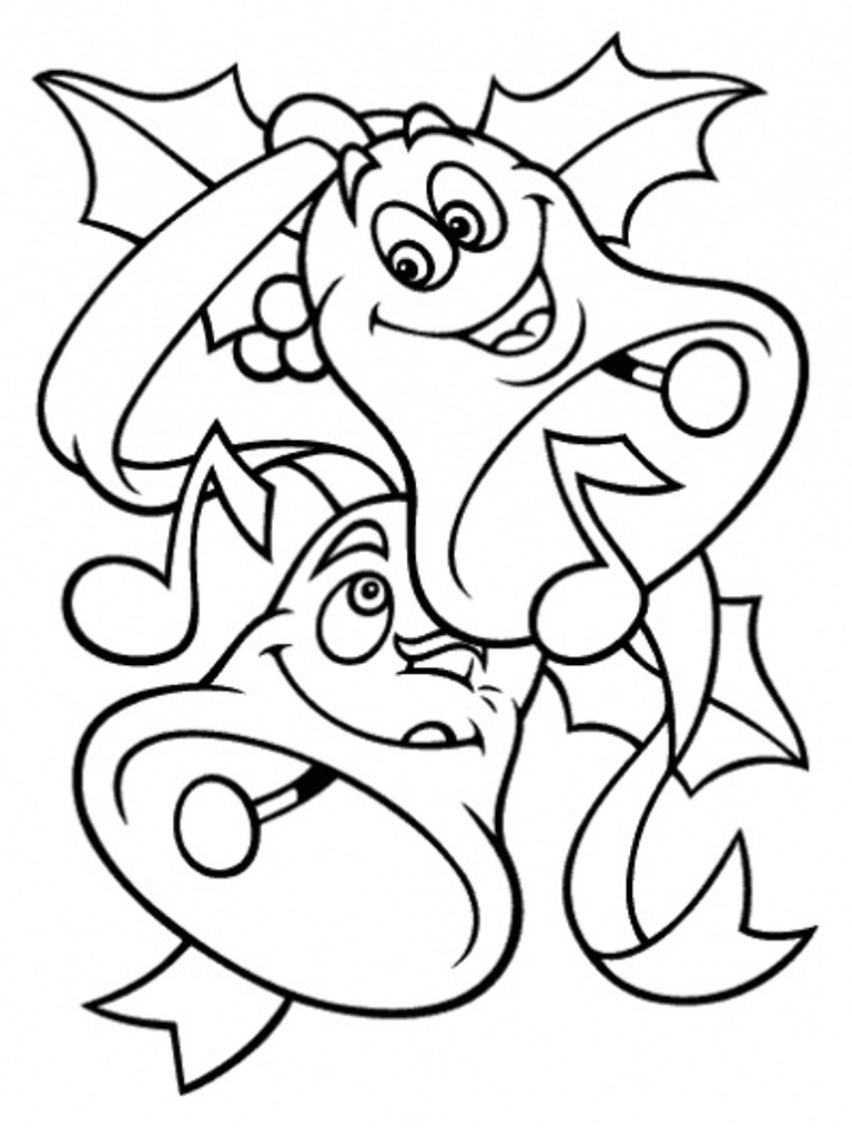 good christmas coloring pages - photo#33
