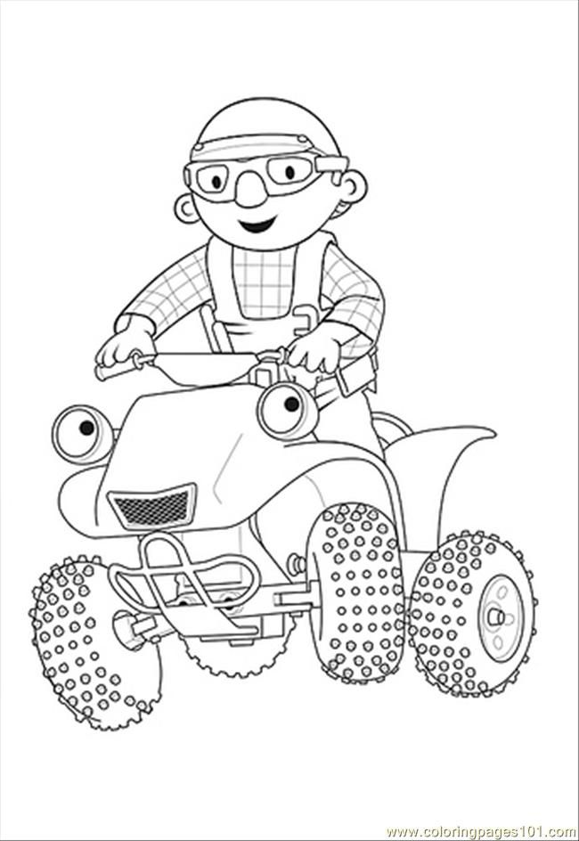 Bob The Builder Coloring Pages - Coloring Home