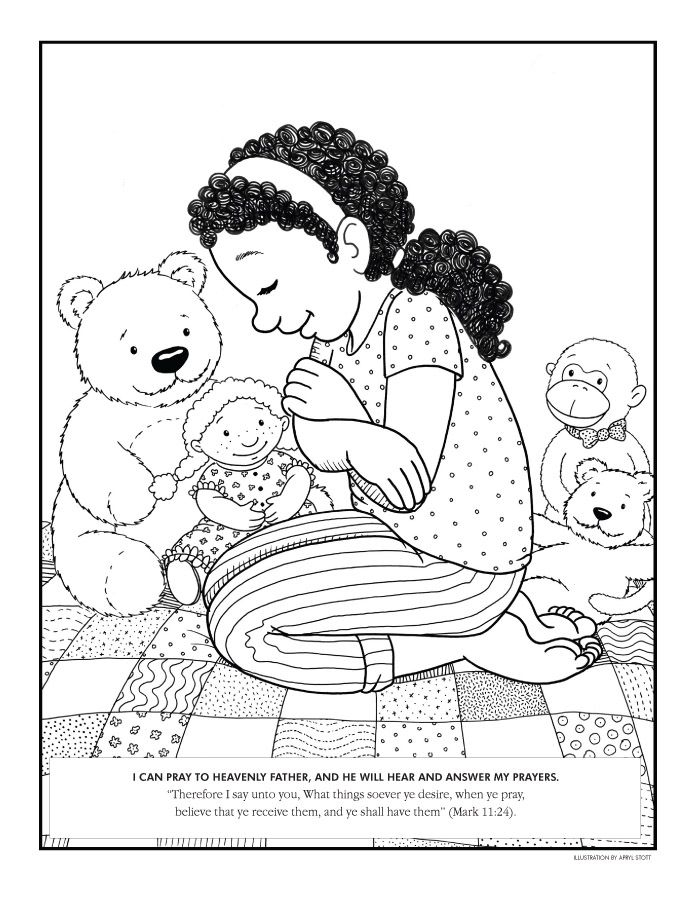 Obey God Coloring Page Coloring