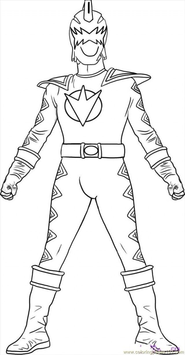dino thunder coloring pages - photo#3