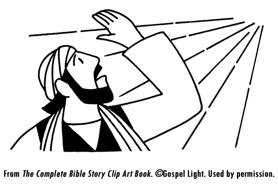 Saul On The Road To Damascus Coloring Page - Coloring Home