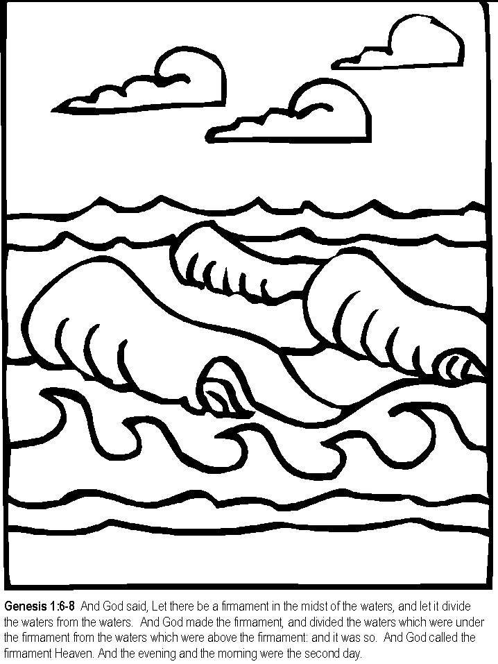 Creation Coloring Pages Coloring