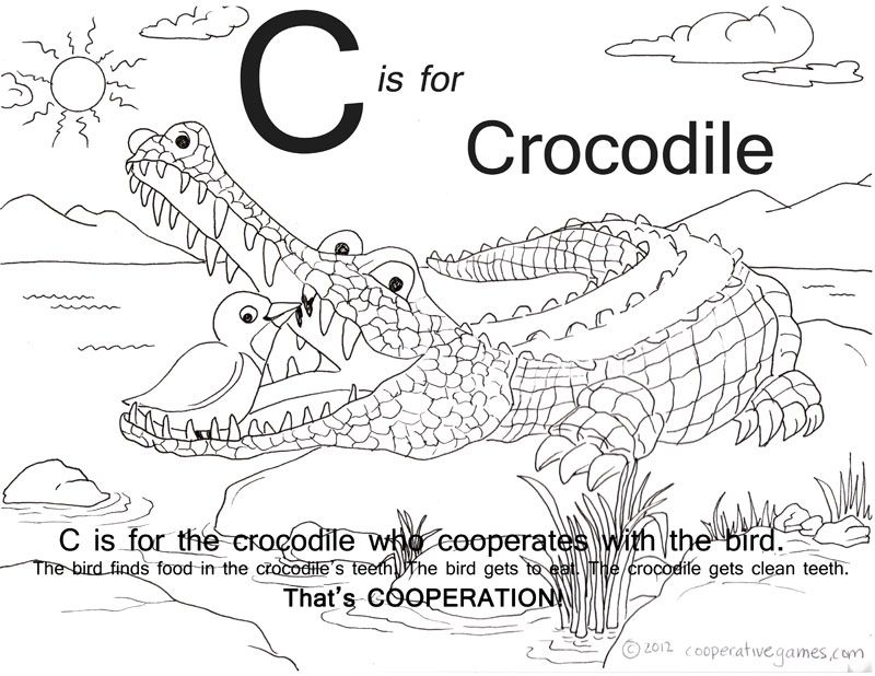 free cooperation coloring pages - photo#11