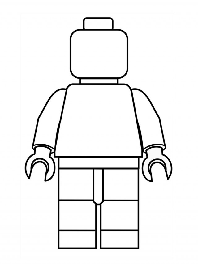 lego minifig coloring pages - photo#3