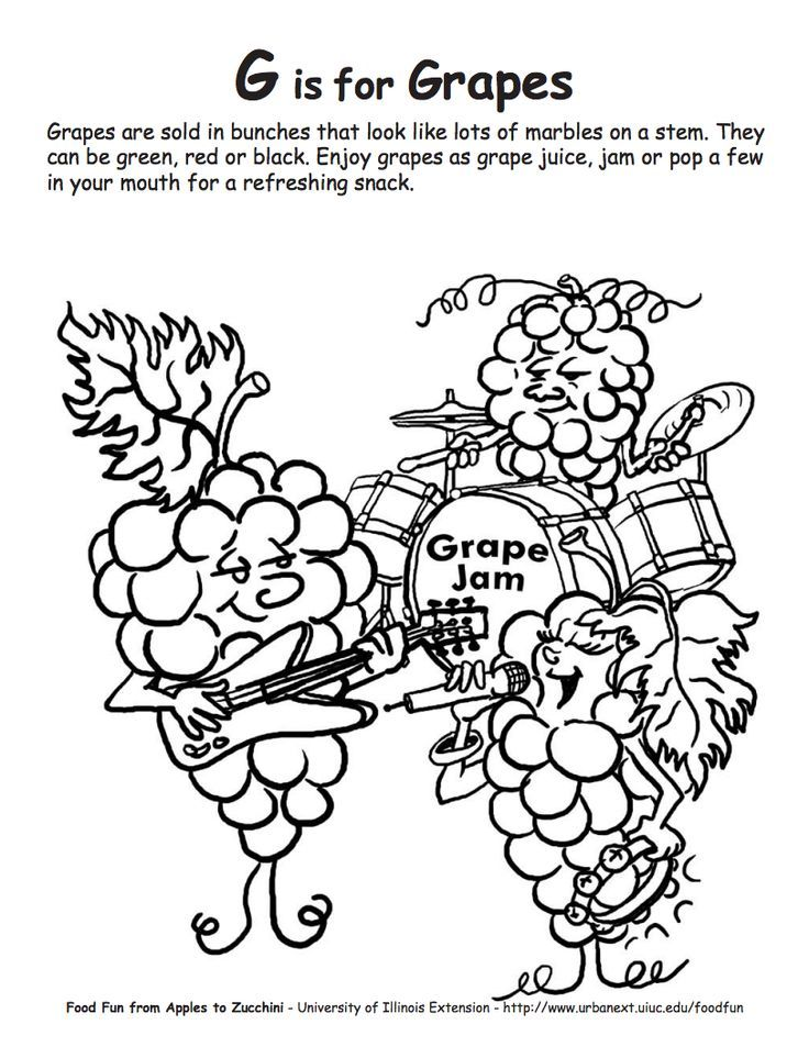 Colouring Pages For Nutrition : Nutrition coloring pages for kids home