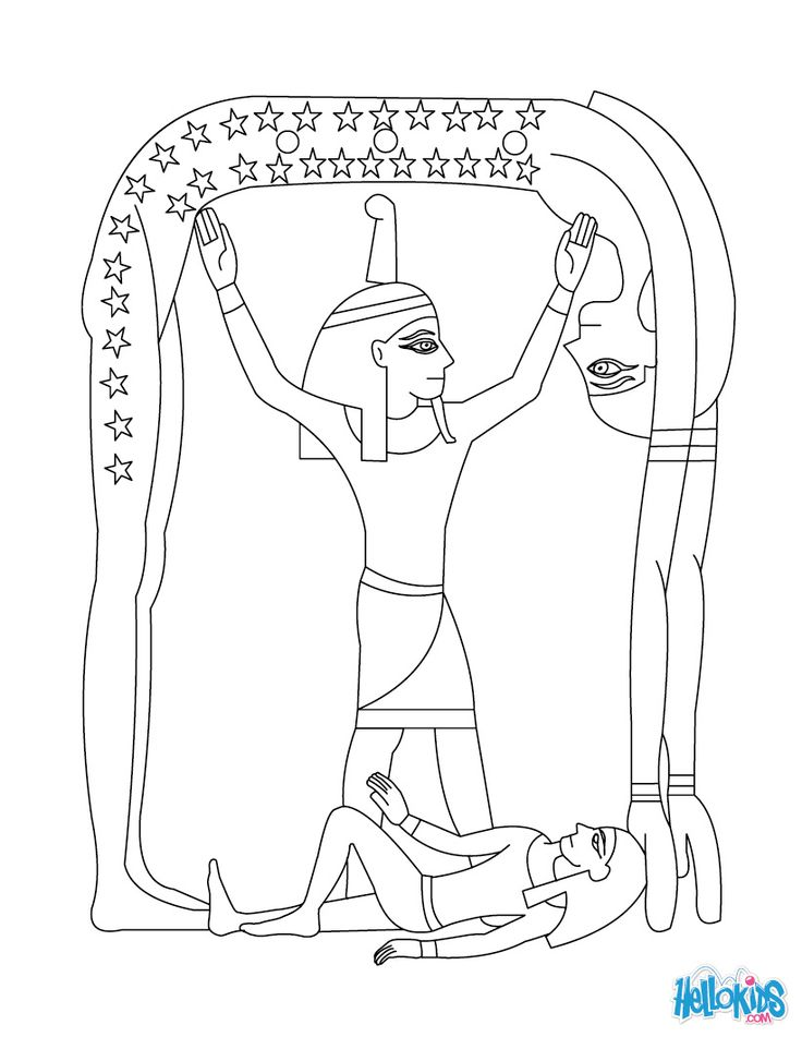 egypt coloring pages for children - photo#40