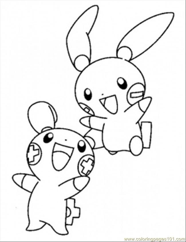 Coloring Pages Pokemon And Taillow Cartoons Others