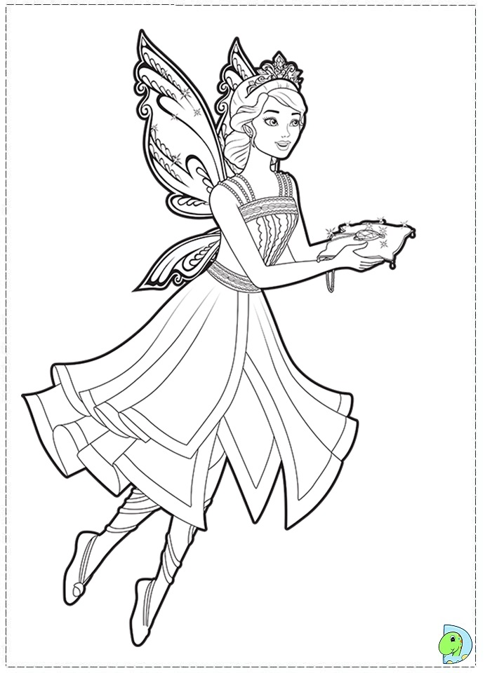 farytale princesss coloring pages - photo#1