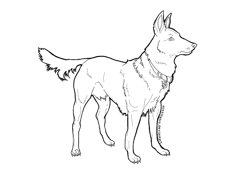 Coloring pages of german shepherds new calendar template for German shepherd coloring pages printable