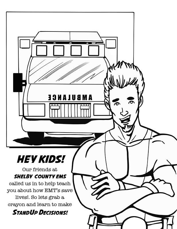 ems coloring pages - photo#12