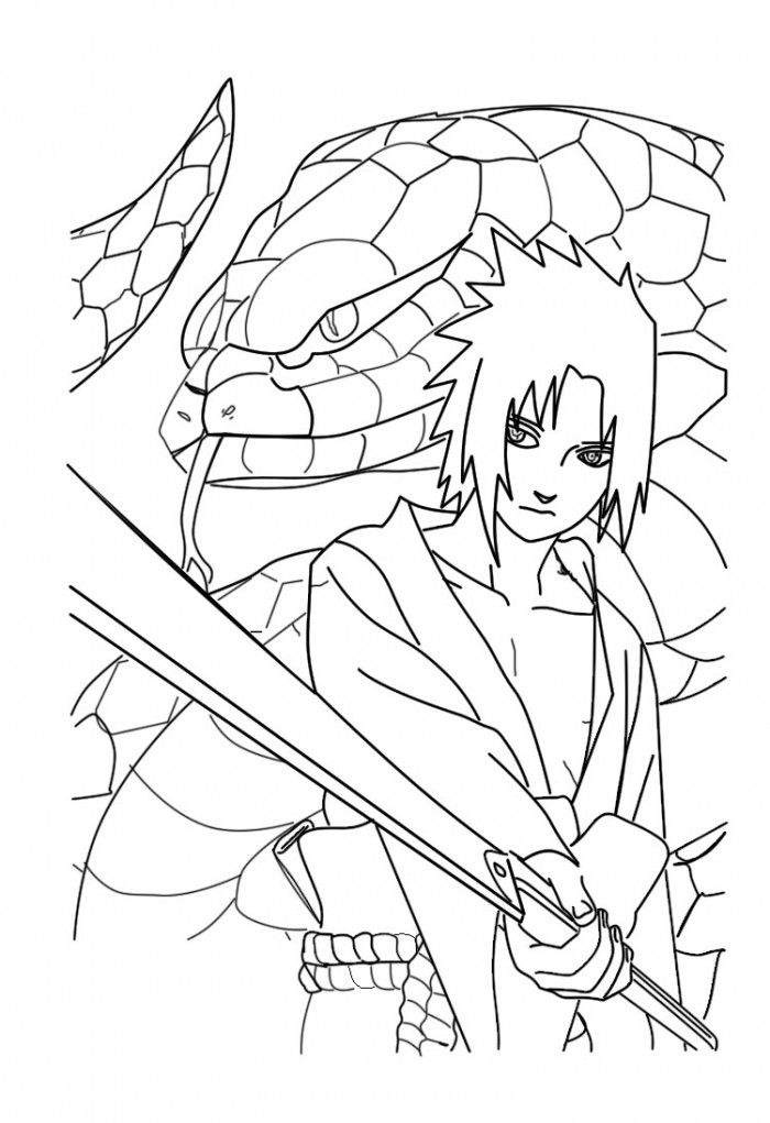 Naruto Coloring Pages Pdf : Naruto shippuden para coloring home