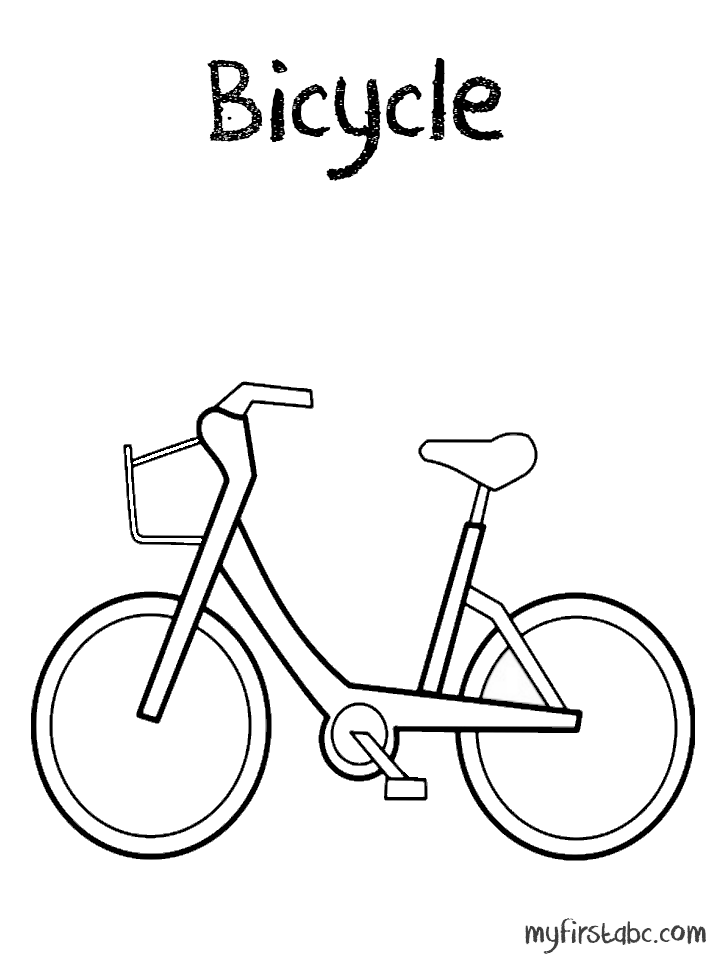 bike coloring pages - photo #45