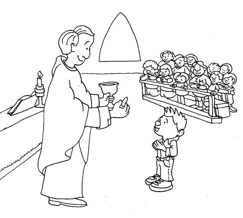 lords supper coloring pages - photo#25
