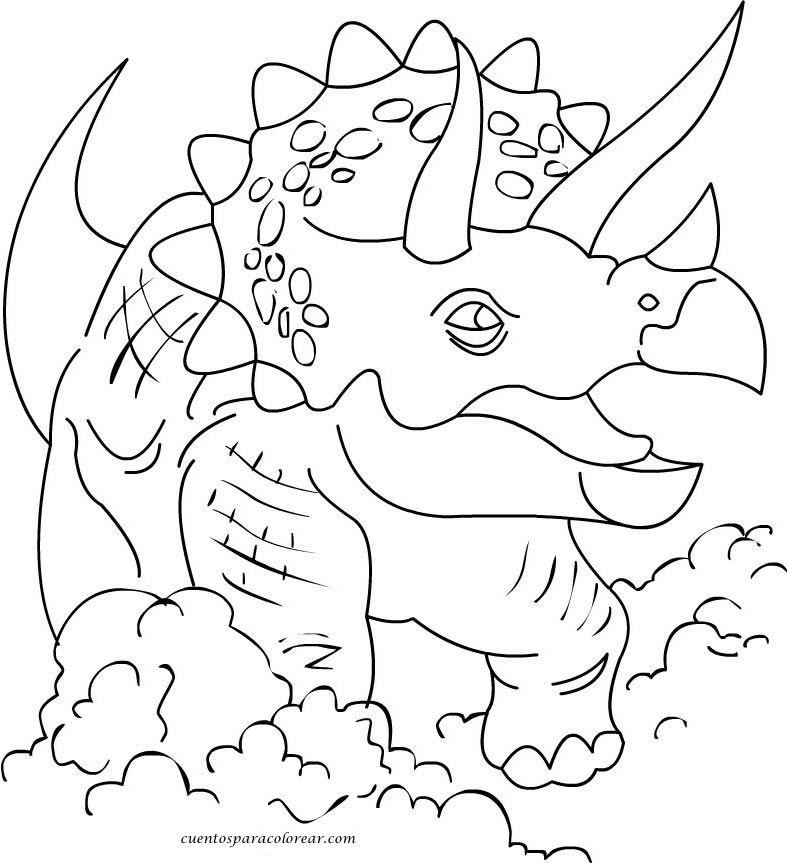 Dibujos De Dinosaurios Para Colorear Online Dibujos
