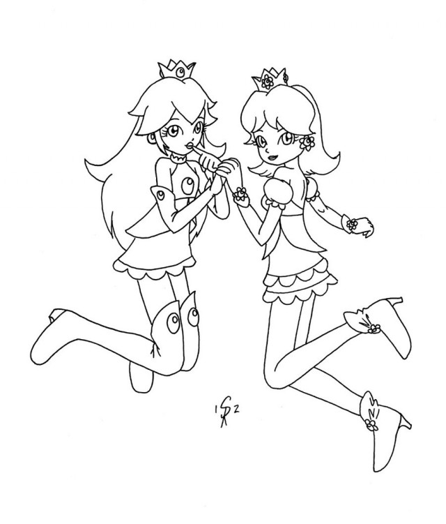 Rosalina Coloring Pages Az Coloring Pages Chibi Princess Rosalina Free Coloring Sheets