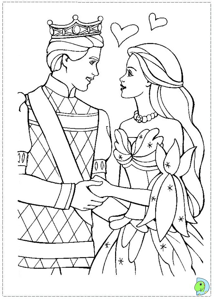 free swan lake coloring pages - photo#12