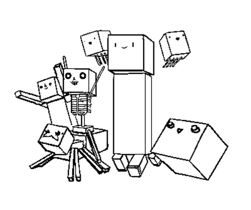 Printable Minecraft Coloring Pages Coloring Home