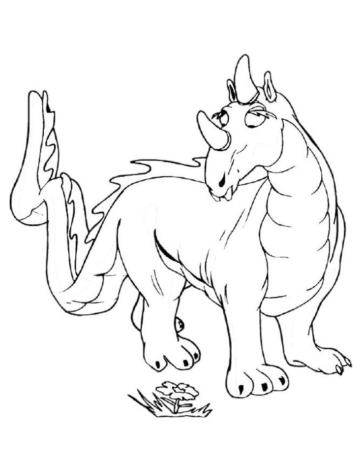 Dragon Coloring Pages Realistic | Coloring Pages