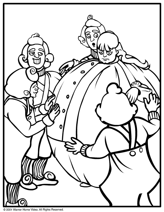 Charlie And The Chocolate Factory Coloring Page Az And The Chocolate Factory Coloring Pages