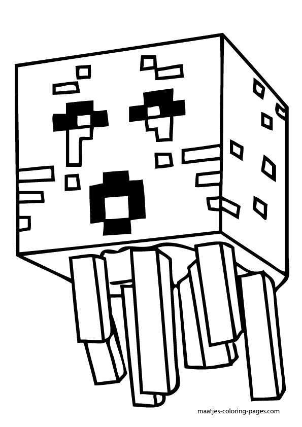 Minecraft Colouring Pages Online : Minecraft skins coloring pages home