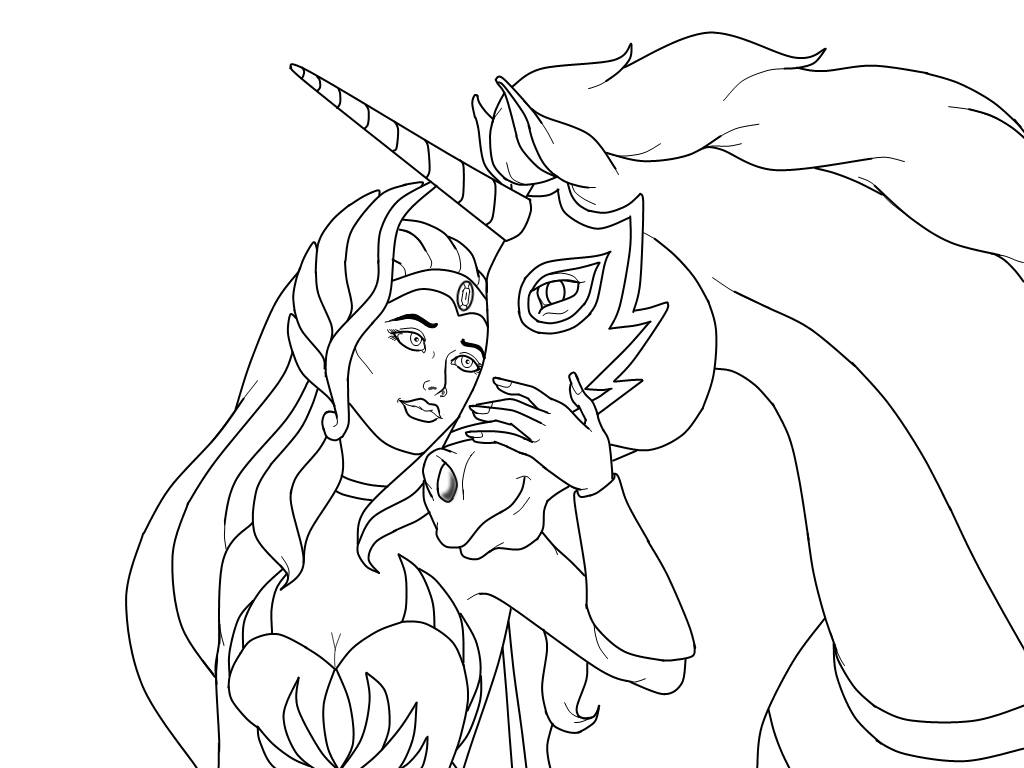 she ra coloring pages - photo#32