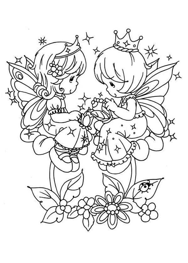 Precious Moments Coloring Pages and Book | UniqueColoringPages