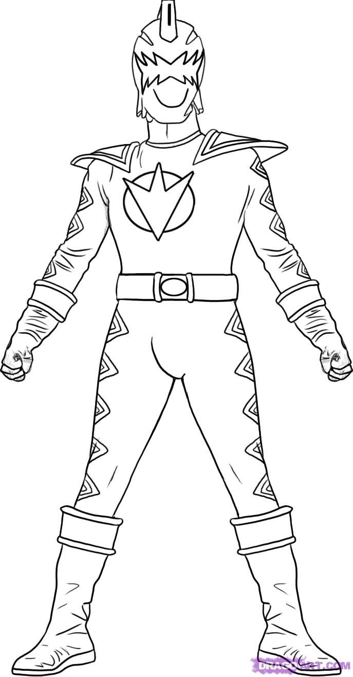 Power Ranger Jungle Fury Coloring Pages - Coloring Home