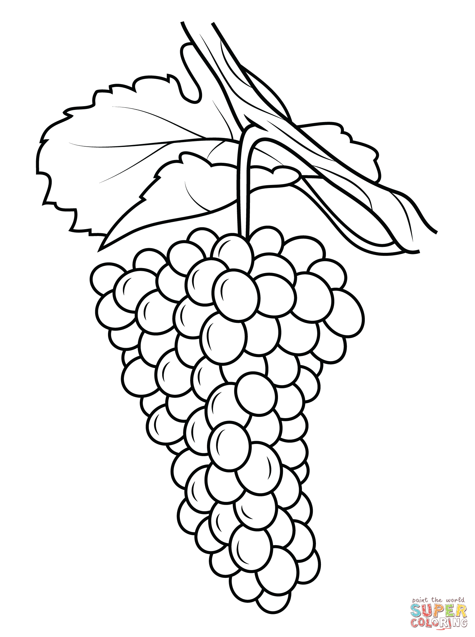 Raisins page coloring pages for Raisins coloring page