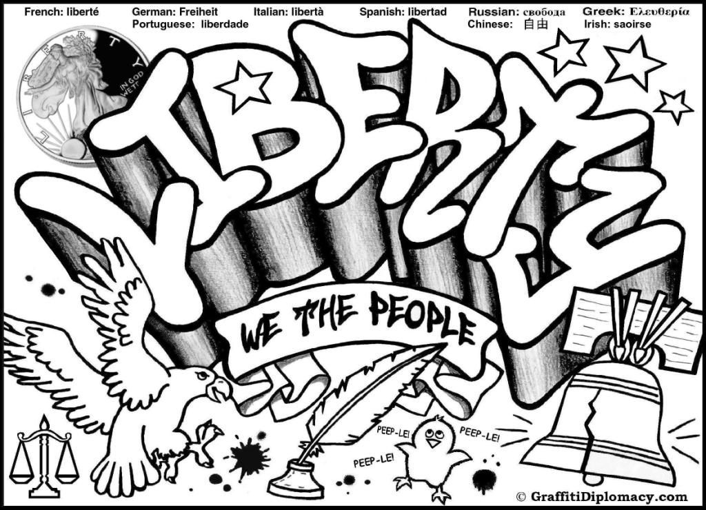 Free Printable Graffiti Coloring Pages, Graffiti Coloring Pages ...