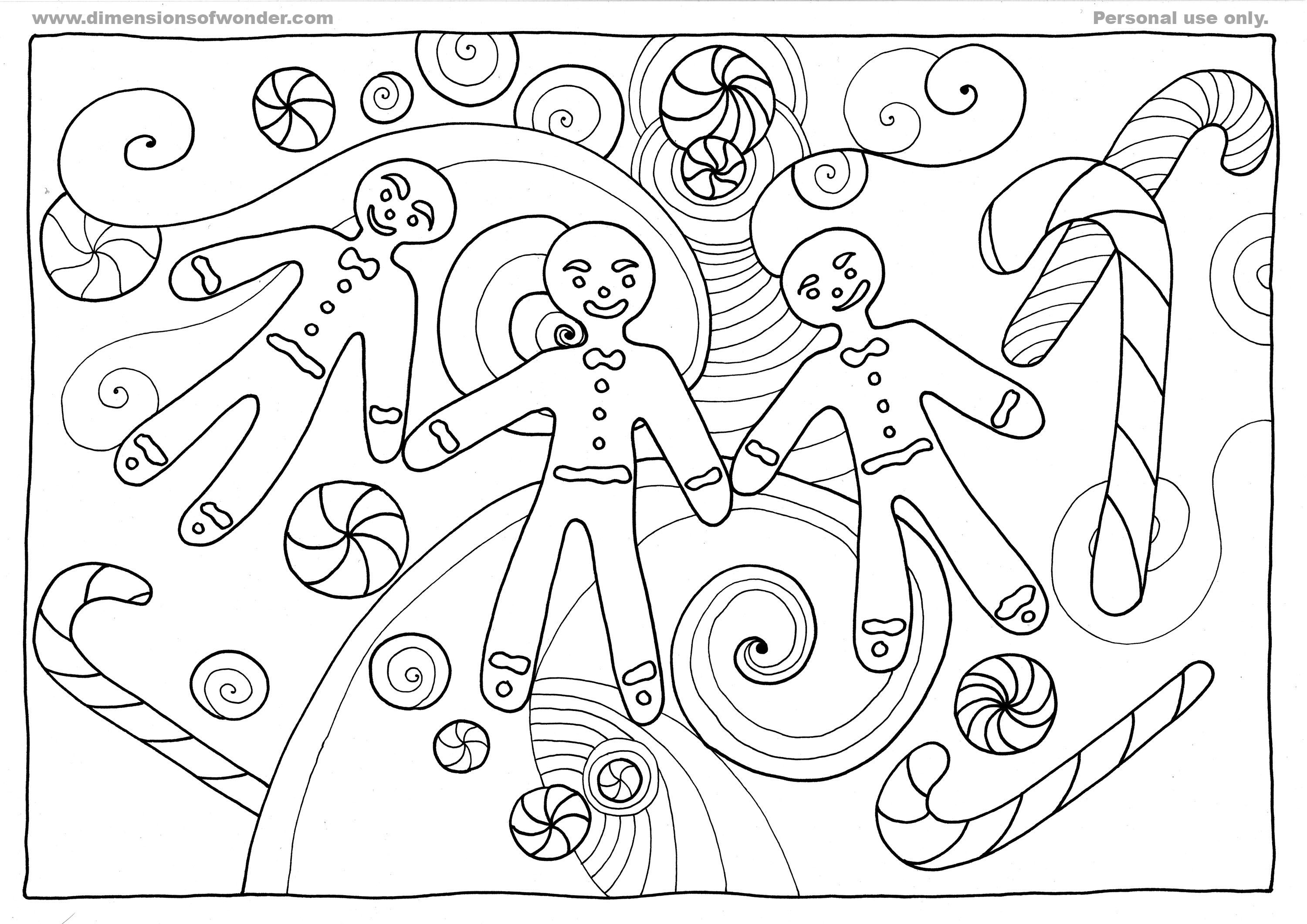 Coloring Pages Of Gingerbread Man Story Coloring Home