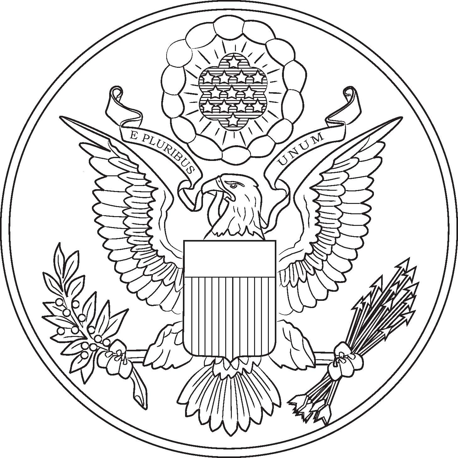 Coloring Page: Symbols Of Unitd States Coloring Pages
