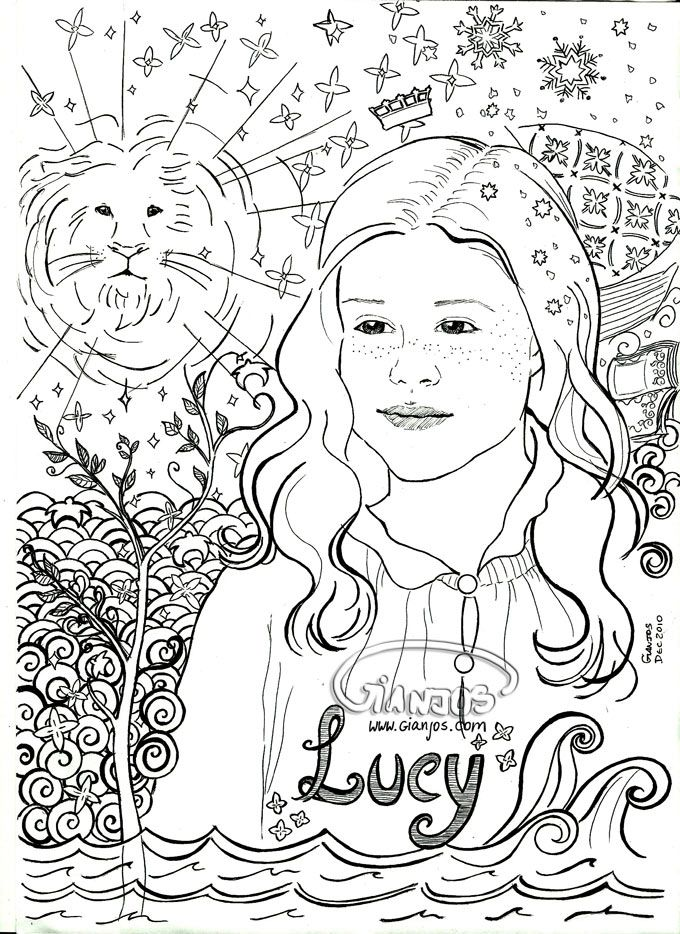 narnia coloring pages free - photo#42